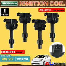 4x Igniton Coils for Volvo S40 V40 1998-2004 1.9L 2.0L Turbo Only B4194T B4204T