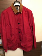 J Crew 1987 Classic Barn Jacket Size M Red Mint Condition