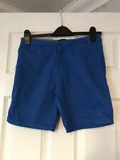 Ben Sherman Boys Blue Shorts Ajustable Waist Age 12-13 Years