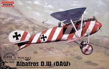Albatros D.III (OAW) << Roden #608, 1/32 scale