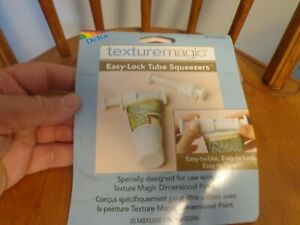 Delta Texture Magic 2-Pack Tube Squeezers -Paint , Toothpaste