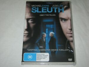 Sleuth - Michael Caine - Brand New & Sealed - Region 4 - DVD