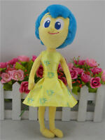 "New Authentic Disney/Pixar's Inside Out Joy 10"" Plush Stuffed Toy"