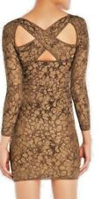 $845 MISSONI BODYCON CAPTIVATING SEXY DRESS  CRISSCROSS BACK DETAIL 38 US2 NWT