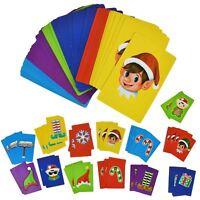 Jumbo Elf Snap Cards Match Christmas Play Family Fun Games Xmas Stocking Filler