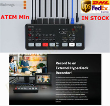 Original Blackmagic Design ATEM Mini HDMI Live Stream Switcher Multi-view Record
