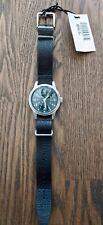 Bulova Hack Watch, Limited Edition, Black Leather NATO Strap