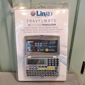 Lingo Direct TR-1650C TravelMate 16 Language Translator Electronic Device - NEW