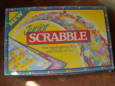 A JUNIOR  SCRABBLE GAME--Complete--V'GOOD CONDITION--about 1990