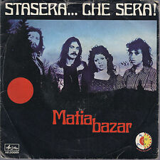 STASERA CHE SERA - IO, MATIA # MATIA BAZAR