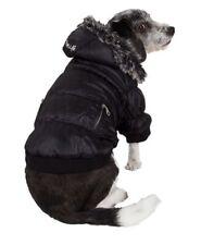 Pet Life Metallic Ski Parka Dog Puffer Coat With Zip Off Hood - Large