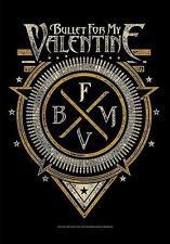 """Bullet for my valentine drapeau/drapeau """"Emblème"""" poster Flag Drapeau poster"""