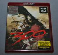 300 Movie HD DVD FRANK MILLER Signed VERY RARE NOT FOR SALE VERSION