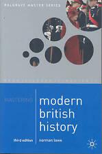 Mastering Modern British History (Palgrave Master Series)-ExLibrary
