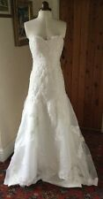 Unbranded Organza Lace Strapless Wedding Dresses