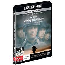 Saving Private Ryan (4K Ultra HD/ Blu-Ray, 2018, 2-Disc Set) (Region B) New