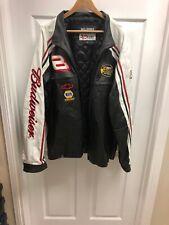 Wilson Leather Dale Earnhardt Budweiser Nascar Jacket