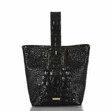 Brahmin Faith Melbourne Black Leather Bag shoulder Purse New