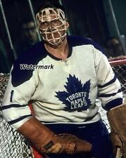 NHL 60's Toronto Maple Leafs Don Simmons Pretzel Mask Color 8 X 10 Photo Picture
