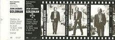 RARE / TICKET DE CONCERT - JEAN JACQUES GOLDMAN LIVE A SAINT DENIS 19 MARS 1998