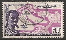 French somali coast SG430 1956 économique, sociale et fonds de développement utilisé