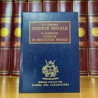 Carabba Codice Penale Alessandri Codice di Procedura Penale Arma dei Carabinieri