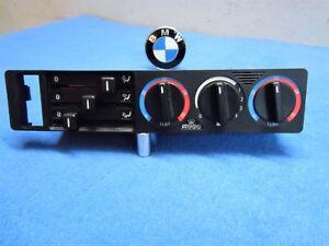 BMW e34 5er Bedienteil Heizung Klima Gebläse Lüftung Control Unit Heatin 8351114