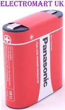 Panasonic 3R12R 1289 4.5 volt zinc carbone vélo head torche lampe lanterne batterie