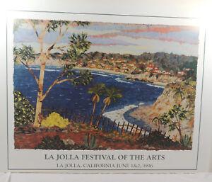Andrea Beloff Signed Print 1996 La Jolla Festival of the Arts Numbered