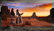 Monument Valley Native American Indian Mini Poster