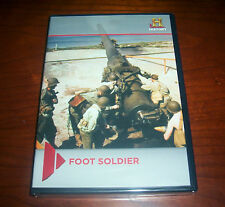 FOOT SOLDIER Civil War WWII Combat Weapons History Channel DVD Set NEW