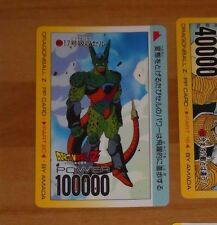 DRAGON BALL Z DBZ AMADA PP PART 20 CARD CARDDASS CARTE 854 MADE IN JAPAN **