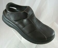 Birkenstock Tatami Sz 39 NARROW Womens 8 Mens 6 Black Sling Back Sandal Leather