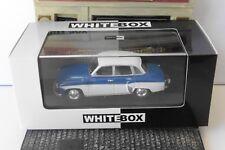 WARTBURG 312 1965 BLUE WHITE WHITEBOX WB125 1/43 EDITION LIMITEE BLEU BLANCHE