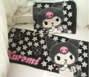 Kuromi black face towel kids hand towels 2020 fashion gift 80x35cm new
