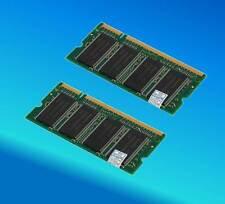 1GIG 2x512MB 1GB RAM Memory HP Compaq Evo n1005v n610c