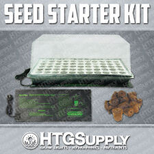 SEED STARTER GREEN HOUSE KIT HOT HEAT MAT SEEDLING