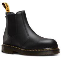 Dr. Martens Fellside Steel-Toe Chelsea Boots - BLACK INDUSTRIAL 23115001