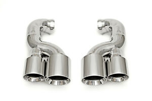 Fabspeed Porsche 957 V6 Deluxe Quad Style Polished Tips