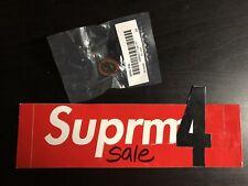 Supreme Spin Pin Ss16 2016 Silver Red Black White Multi Box Logo Enamel Cdg Pcl
