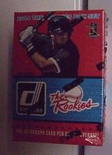 2014 DONRUSS BB*f/s The Rookies 100 Card Set*L@@K for 1 AUTOGRAPH per BOX (o/a)*