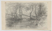 ANDRE GIROUX DESSIN AUVERGNE LA BOURBOULE 1877