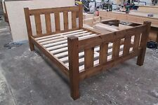 Made to Order - Chunky Solid Pine Slatted Bed Frame