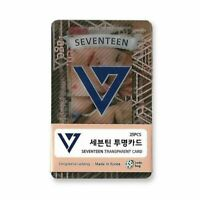 K-Pop Idol SEVENTEEN Transparent Photo Card 25pcs + Tracking Number