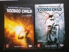 VOODOO CHILD : LOT 2 albums BD (Tome 1 + 2 WESTON CAGE / NICOLAS CAGE Virgin)