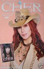 """Cher """"Video Hits Collection"""" U.S. Promo Poster -Wearing Cowboy Hat & Rhinestones"""