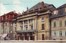 Germany AK Bayreuth - Opernhaus Opera old postcard