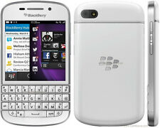 New Original BlackBerry Q10 - 16GB - White (Unlocked) Smartphone Touchscreen 3G