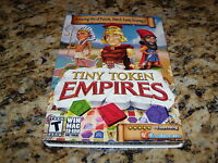 Tiny Token Empires (PC, 2012) New and Sealed