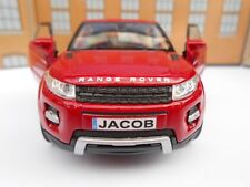 RANGE ROVER EVOQUE PERSONALISED NAME PLATES Toy Car MODEL DAD BOY BIRTHDAY GIFT